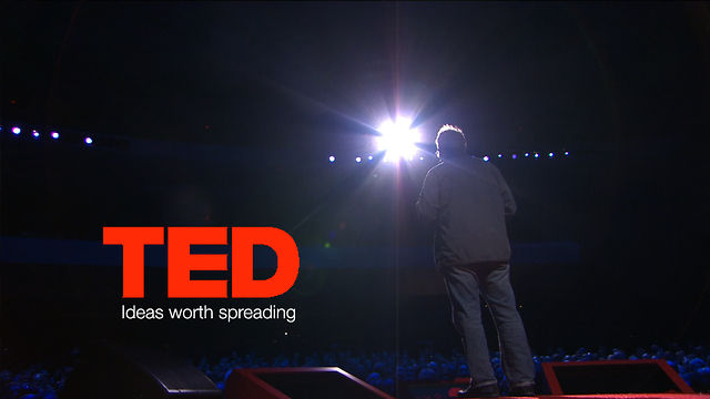 TED talk stage
