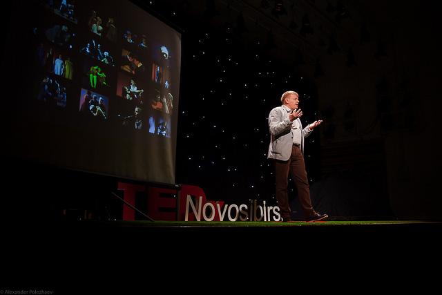 TEDxNovosibirsk глазами фотографа Александра Полежаева
