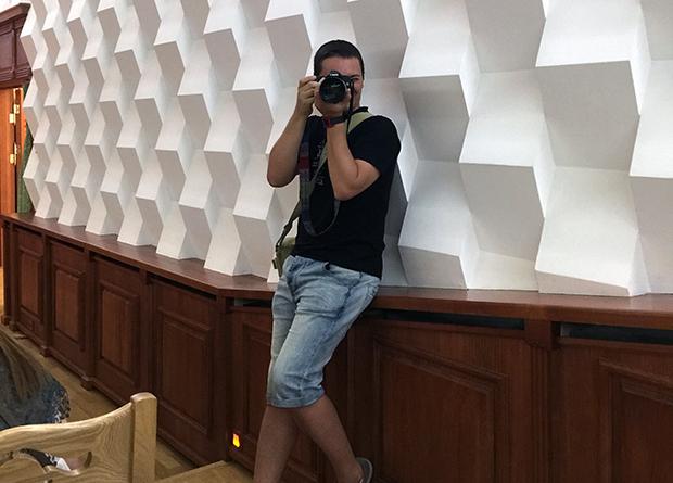 Александр Полежаев, волонтер фотограф TEDxNovosibirsk