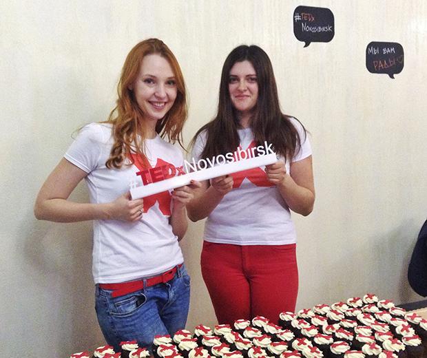Лиза Шутова, волонтер TEDxNovosibirsk