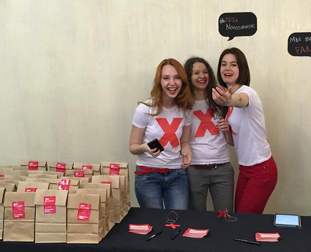 Вера Манохина, волонтер на TEDxNovosibirsk 2015
