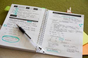 Вдохновляющий ежедневник: блок для заметок со встреч