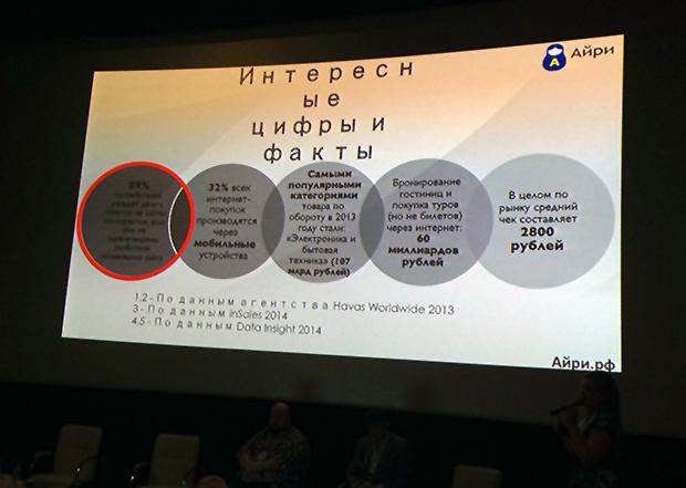 Непроверенные вовремя слайды презентаций на конференции. РИФ.Новосибирск