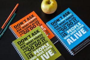 Вдохновляющий ежедневник: 3 варианта обложки
