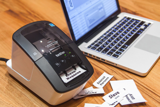 Принтер Brother подключается к ноутбуку через Wi-Fi или по USB