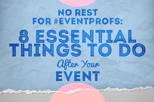 8 обязательных вещей, которые надо сделать после события (EventMB)