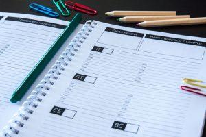 Вдохновляющий ежедневник: планировщик на неделю, люди недели