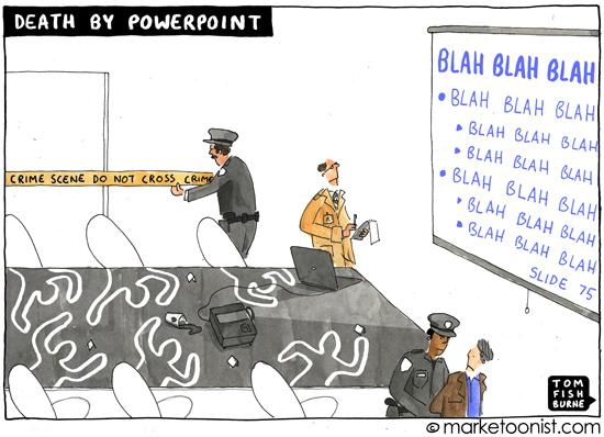 Смерть от длинной презентации PowerPoint