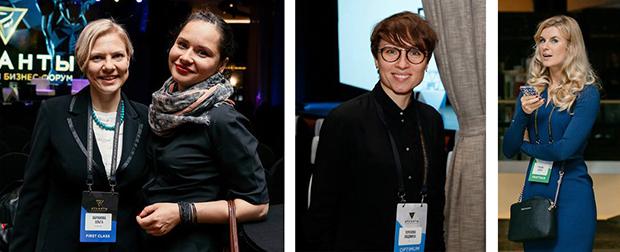 Бейдж линч: бизнес-форум Атланты 2016. Примеры использования цветов для обозначения роли и статуса участника
