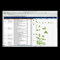 Шаблон плана организатора небольшого события в Excel